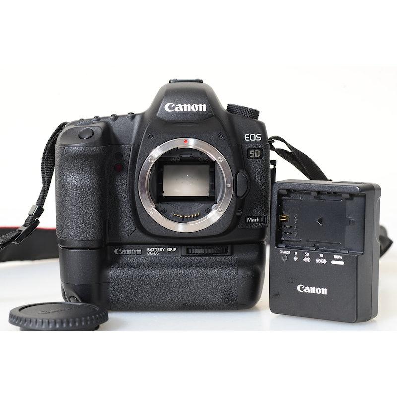Canon EOS 5D II+Batterie-Pack BG-E6 (46160 Auslösungen)