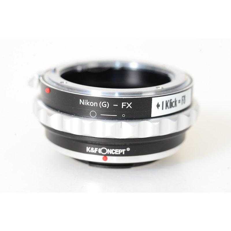 K+f Concept Nikon-G Objektivadapter Fuji-X