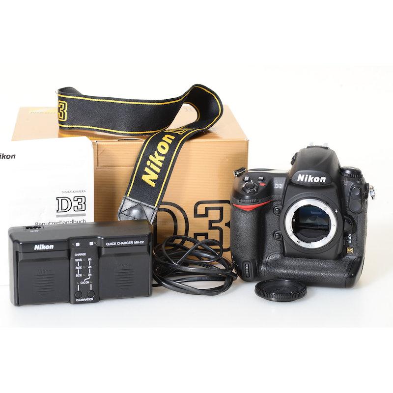 Nikon D3 (35650 Auslösungen)