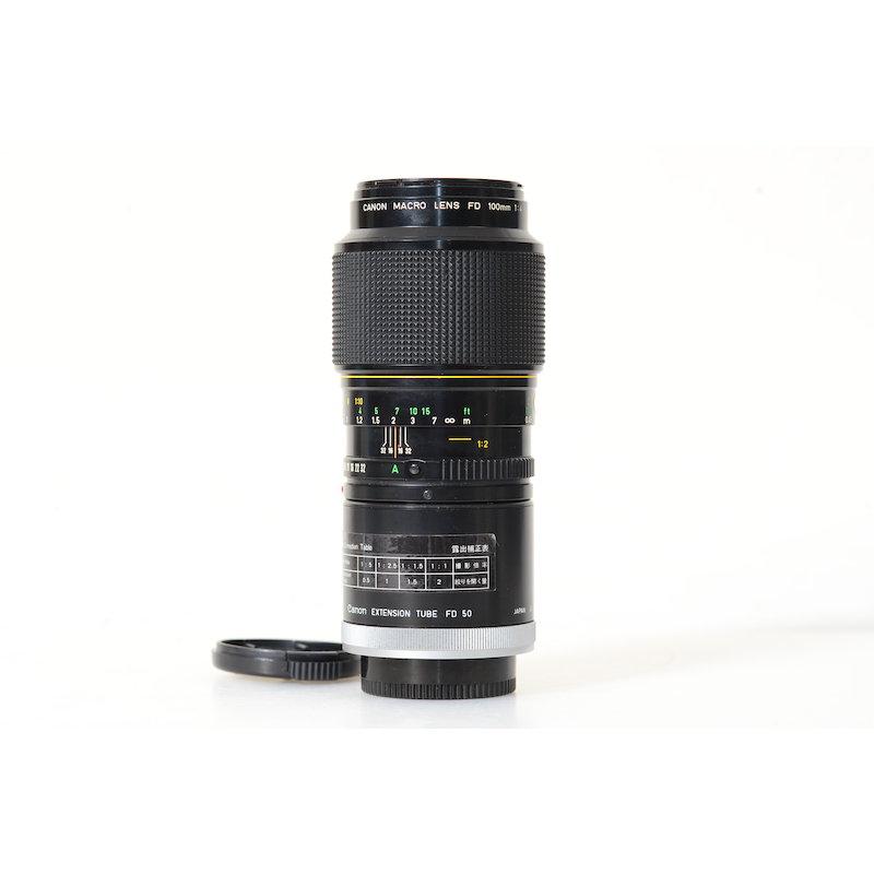 Canon FD 4,0/100 Makro+1:1 Ring