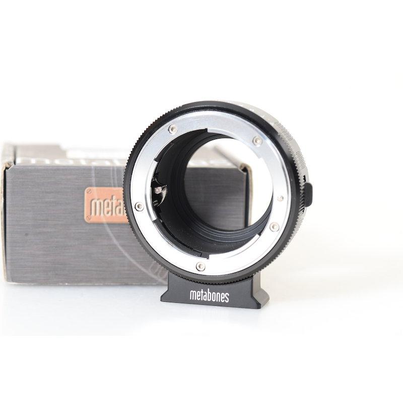 Metabones Nikon F Objektivadapter MFT