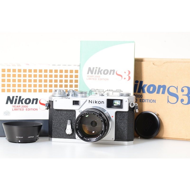 Nikon S3+Nikkor-S 1,4/50 Limited Edition Year 2000