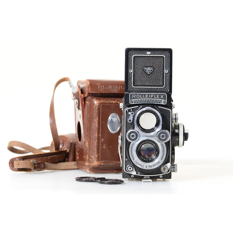 Rollei Rolleiflex 3,5F Modell 1+Planar 3,5/75