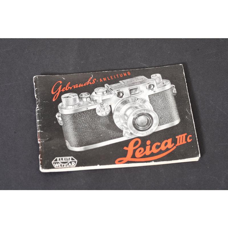 Leitz Anleitung Leica IIIc