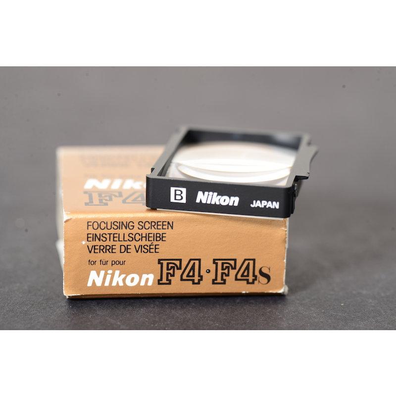 Nikon Einstellscheibe B F4