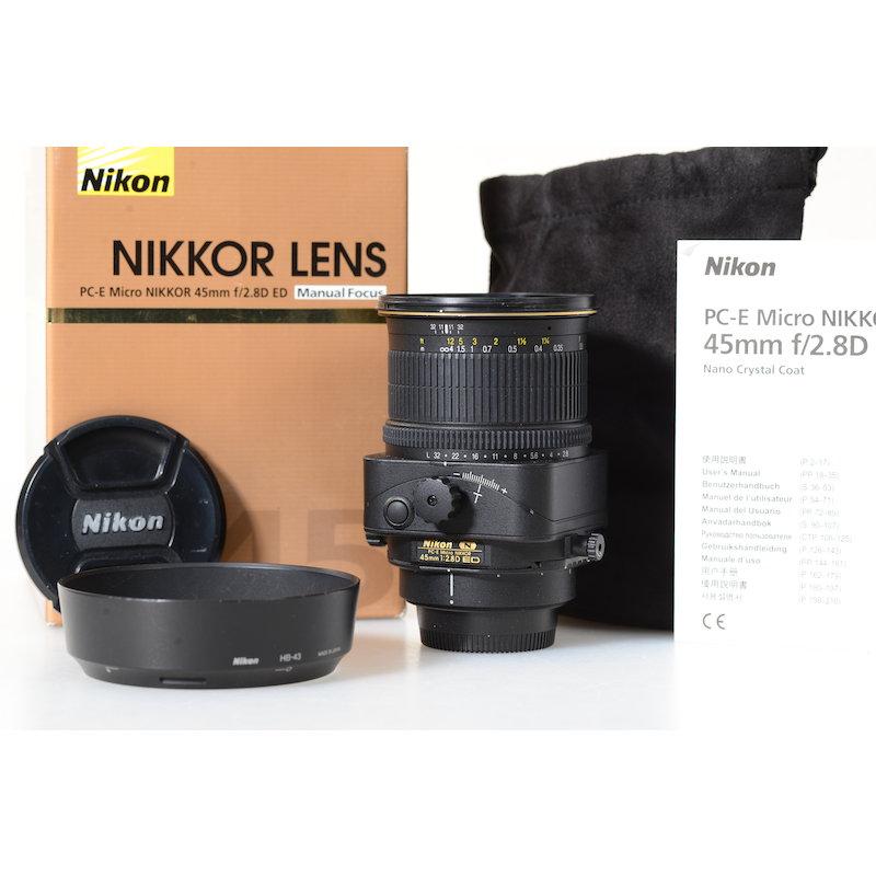 Nikon PC-E 2,8/45 D Micro ED