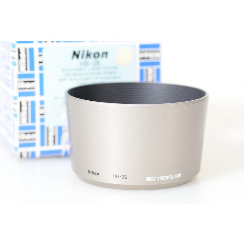 Nikon Geli.-Blende Silber HB-26 AF-G 4,0-5,6/70-300