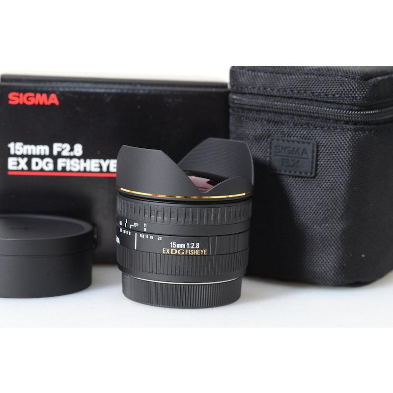 Sigma EX 2,8/15 Fisheye C/EF