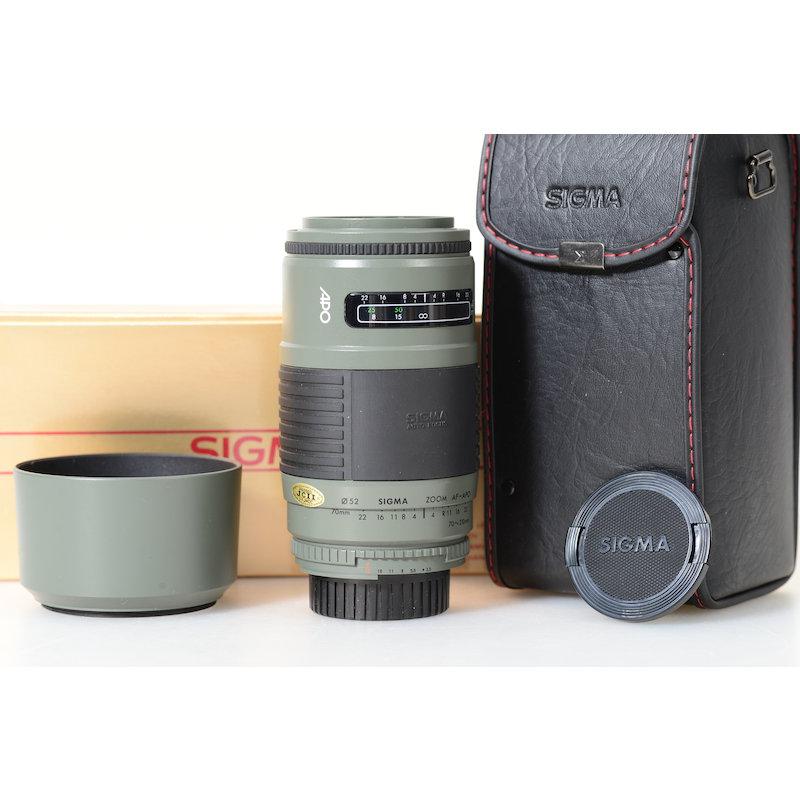 Sigma APO 3,5-4,5/70-210 Grün NI/AF