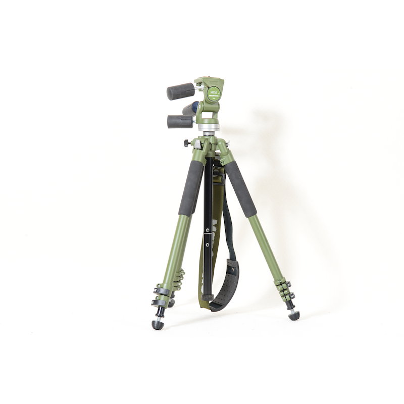 Manfrotto Kamerastativ MA 190NAT+Neigekopf MA 141RCNAT