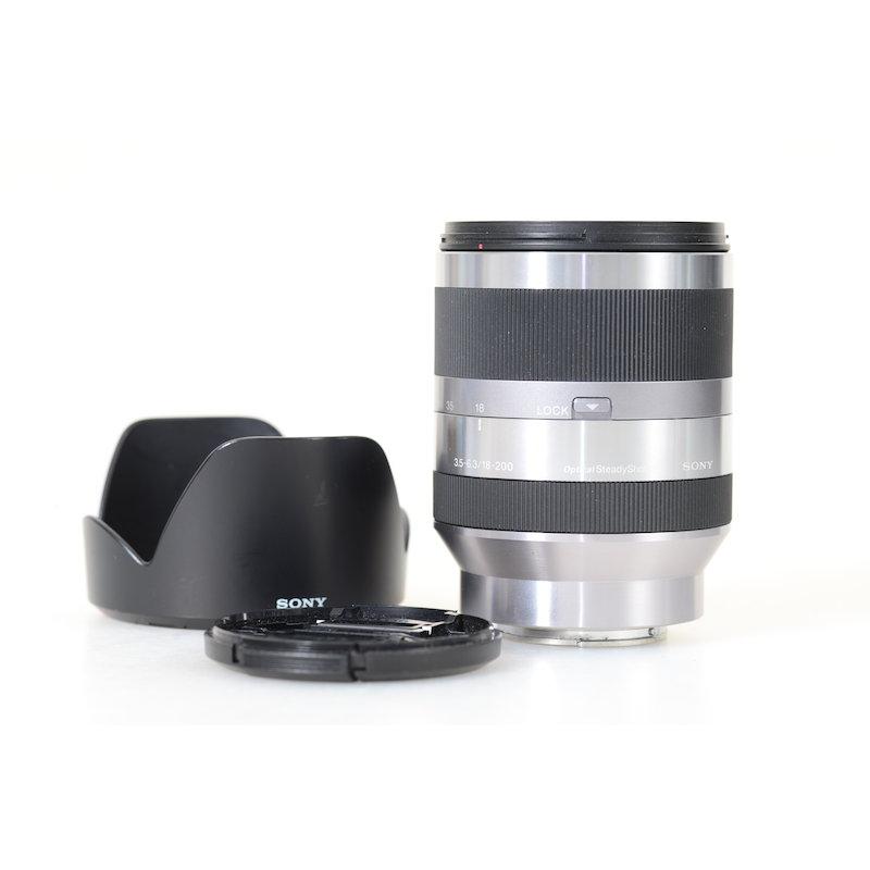 Sony DT 3,5-6,3/18-200 OSS E-Mount Silver #SEL18200