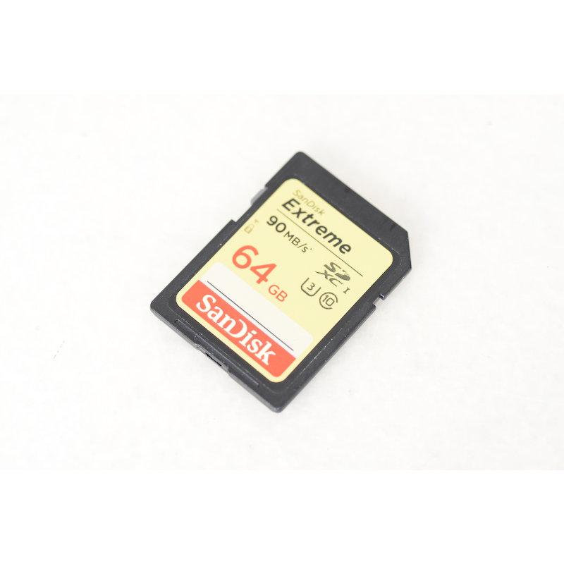 SanDisk SDXC Karte Extreme 90MB/s 64GB