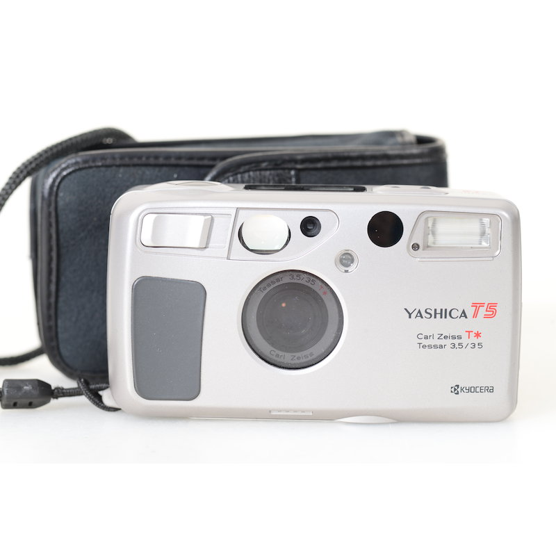 Yashica T5 Silber
