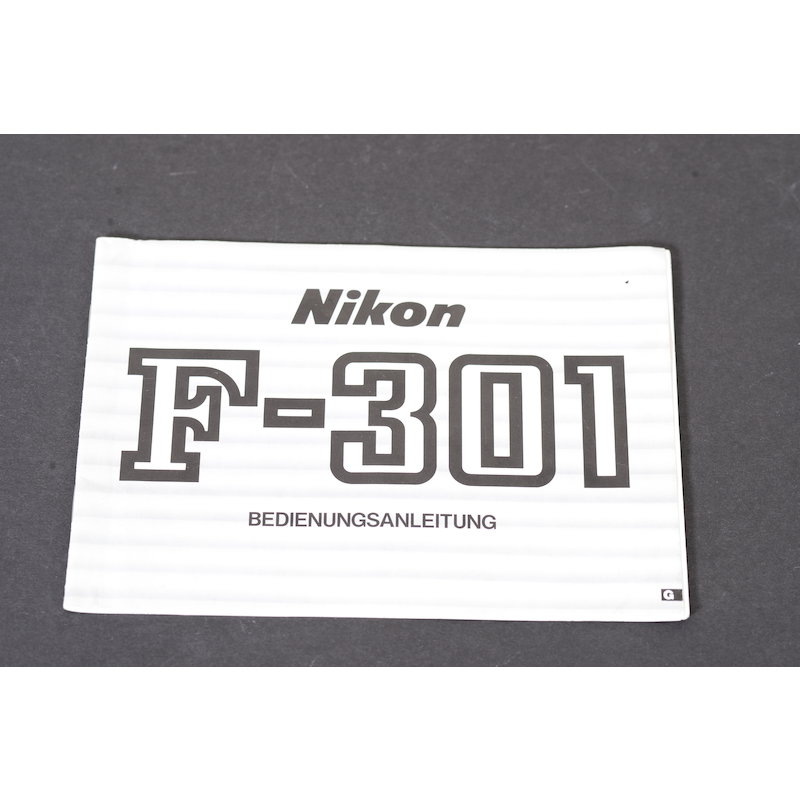 Nikon Anleitung F-301