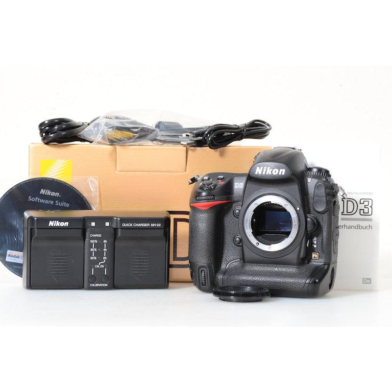 Nikon D3 (27000 Auslösungen)