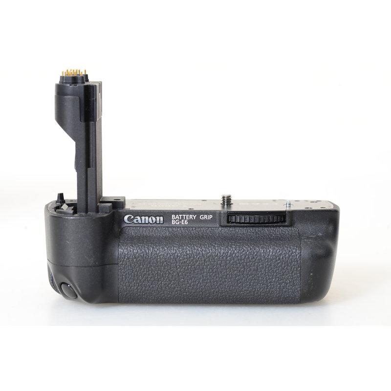 Canon Batterie-Pack BG-E6 EOS 5D Mark II ohne Batterieeinsatz