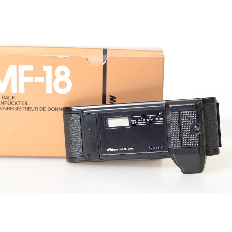 Nikon Datenrückwand MF-18 F3