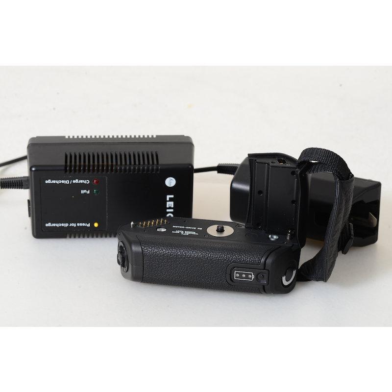 Leica Motor Drive R8+NC-Ladegerät+Akku