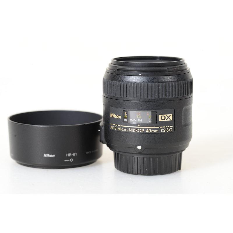 Nikon AF-S 2,8/40 Micro G DX