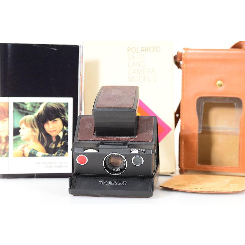 Polaroid SX-70 Modell 2 Braun