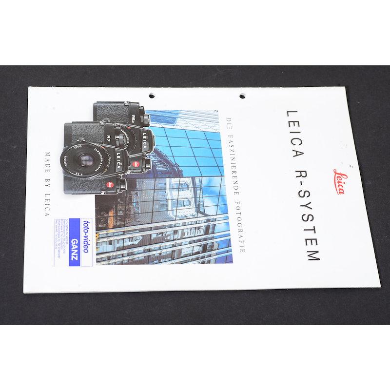 Leica Prospekt R-System Die Faszienierende Fotografie