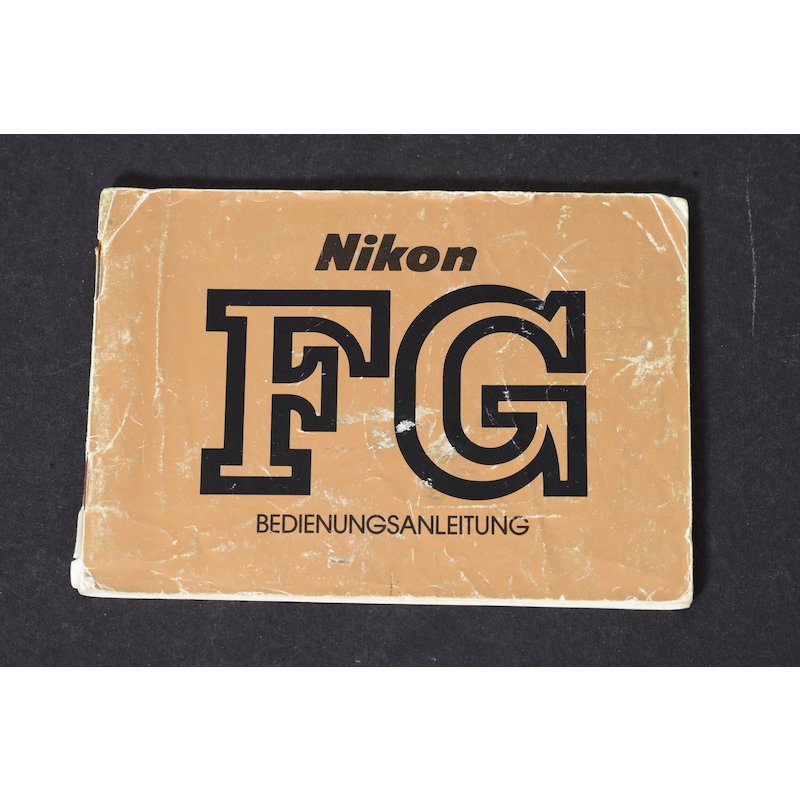 Nikon Anleitung FG