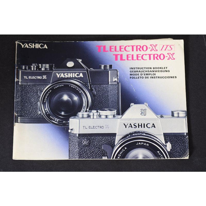 Yashica Anleitung TL Electro-X