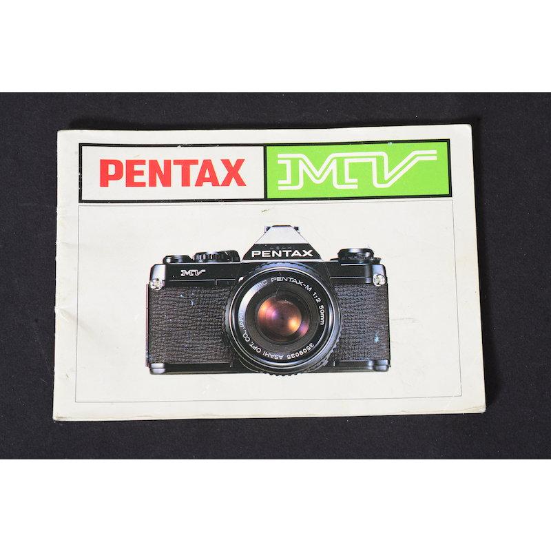 Pentax Anleitung MV