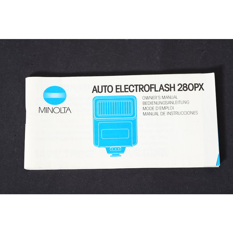 Minolta Anleitung Blitz Auto 280 PX