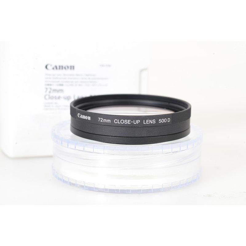 Canon Nahlinse 500D E-72