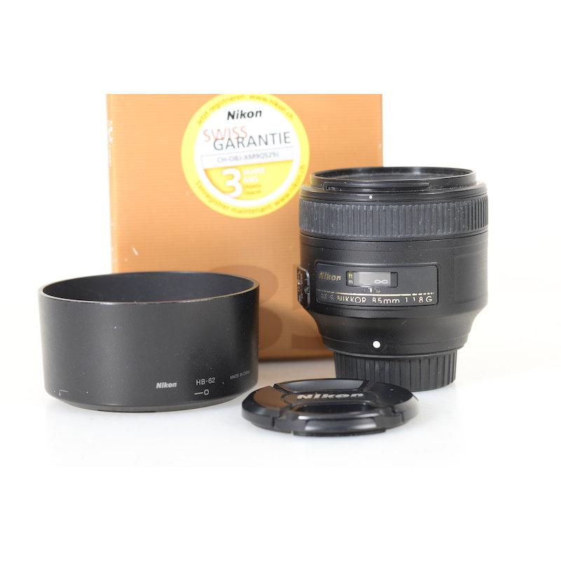 Nikon AF-S 1,8/85 G