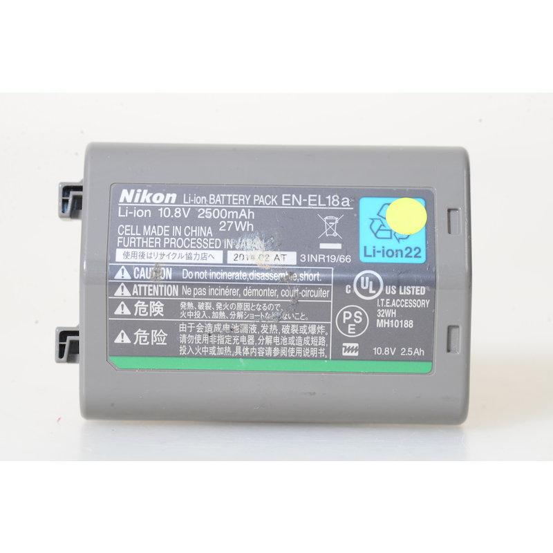 Nikon Li-Ion-Akku EN-EL18a