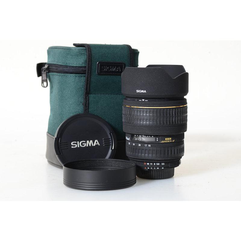 Sigma EX 3,5-4,5/15-30 ASP DG NI/AF D