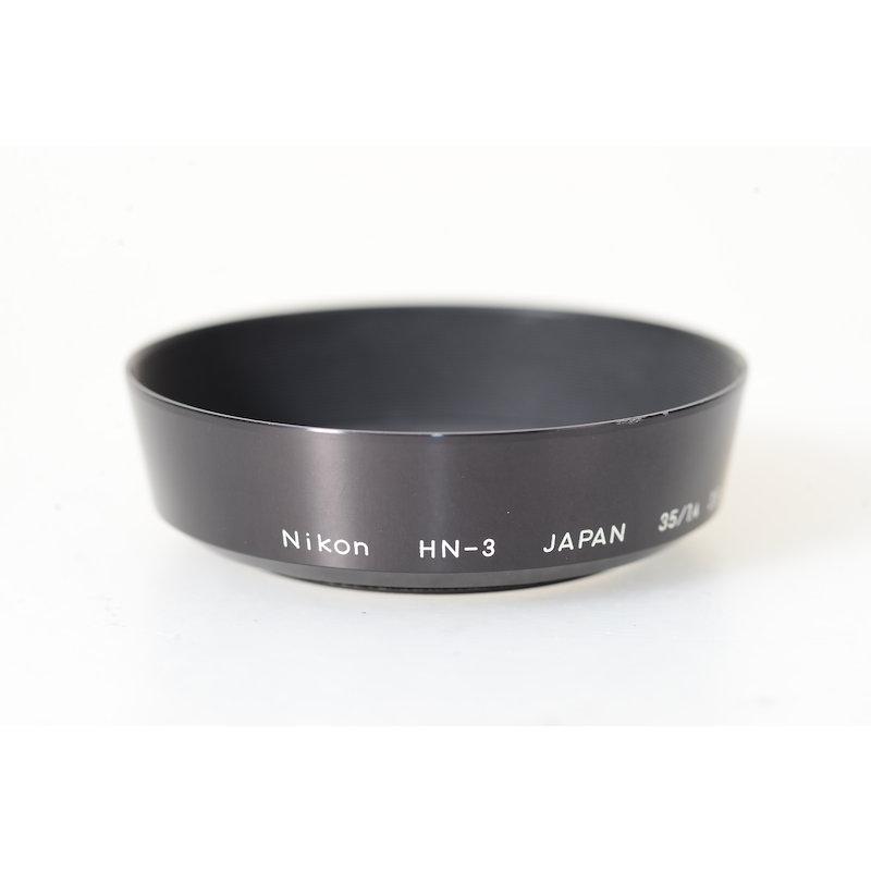 Nikon Geli.-Blende E-52 HN-3 Ai/S 2,0/35