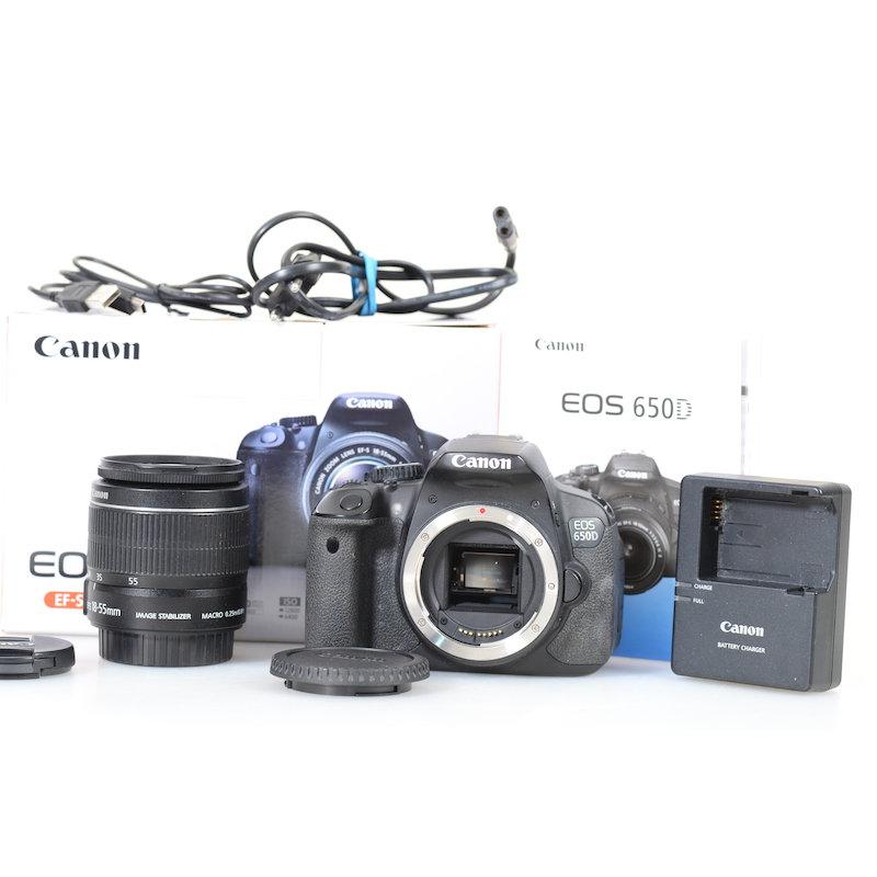 Canon EOS 650D+EF-S 3,5-5,6/18-55 IS II