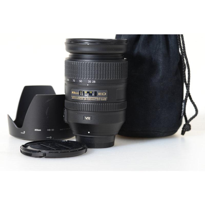 Nikon AF-S 3,5-5,6/28-300 G ED VR