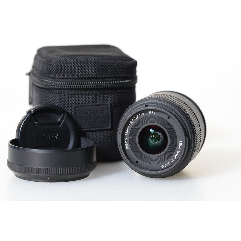 Sigma EX DN 2,8/19 Black E-Mount