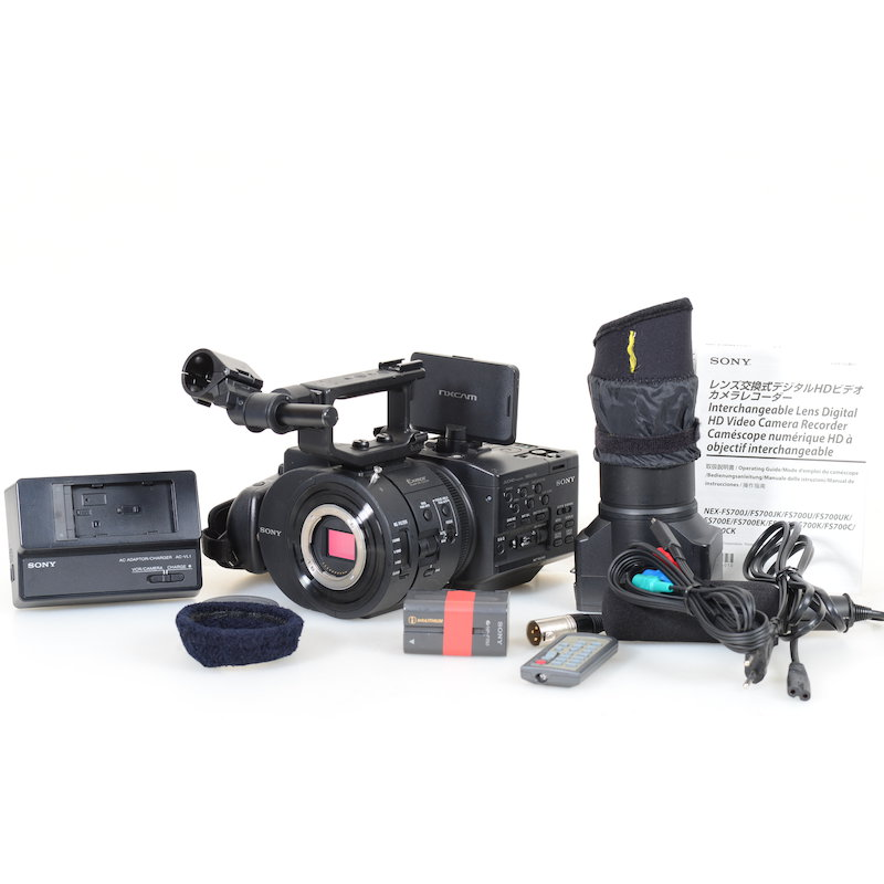 sony super 35 4k camcorder nex fs700 kamera 35mm cmos. Black Bedroom Furniture Sets. Home Design Ideas