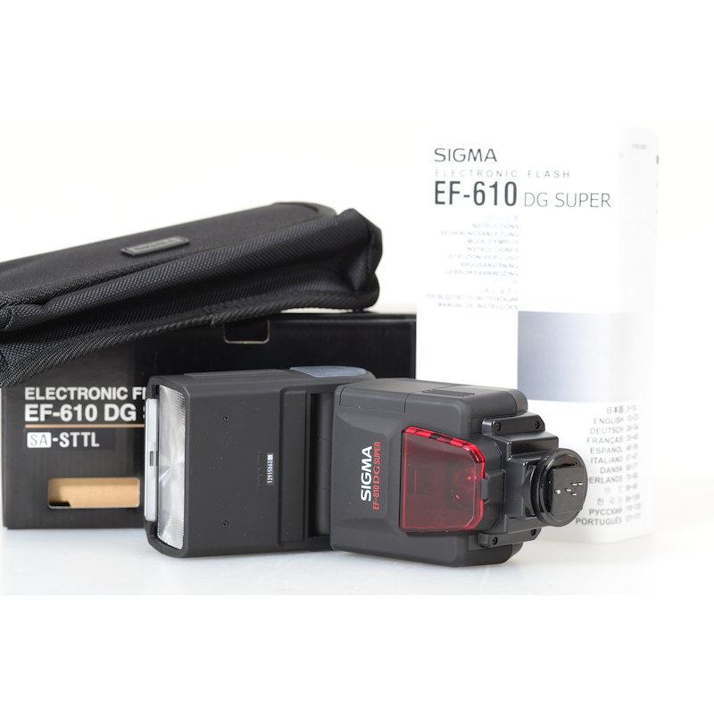 Sigma Elektronenblitz EF-610 DG ST EO-ETTL II