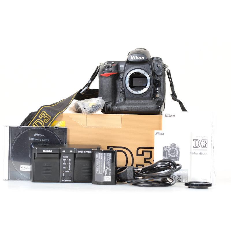 Nikon D3 (80000 Auslösungen)