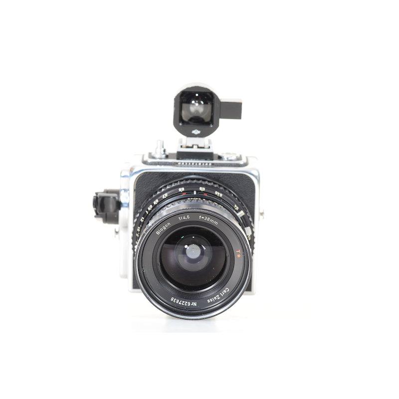 Hasselblad SWC/M+Biogon CF 4,5/38 T* Black+Sucher