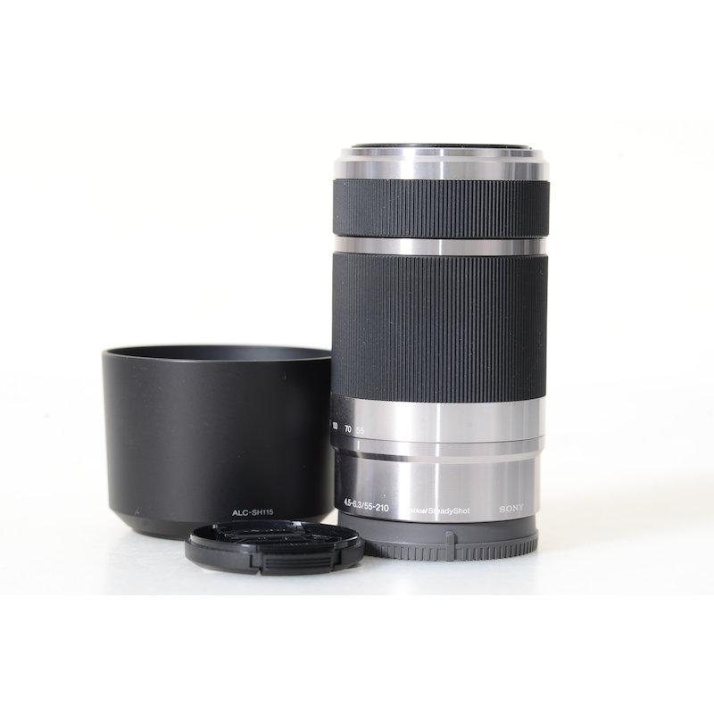 Sony AF 4,5-6,3/55-210 OSS Silber E-Mount
