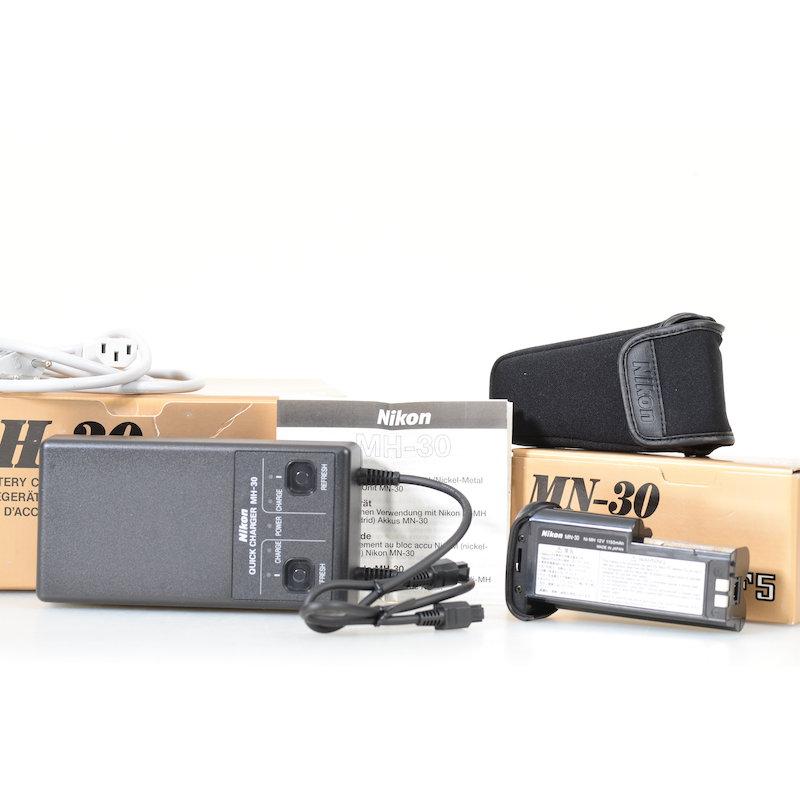 Nikon Schnell-Ladegerät MH-30+Akku F5