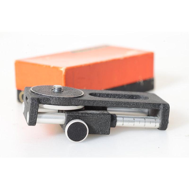 Novoflex Einstellschlitten 3/8 CASTEL