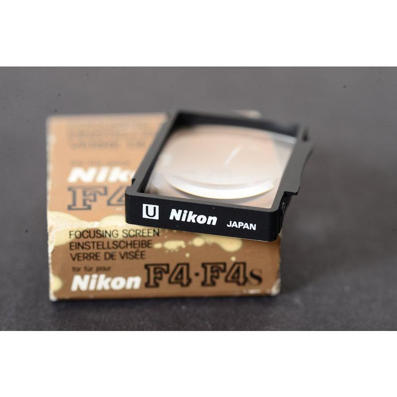 Nikon Einstellscheibe U F4