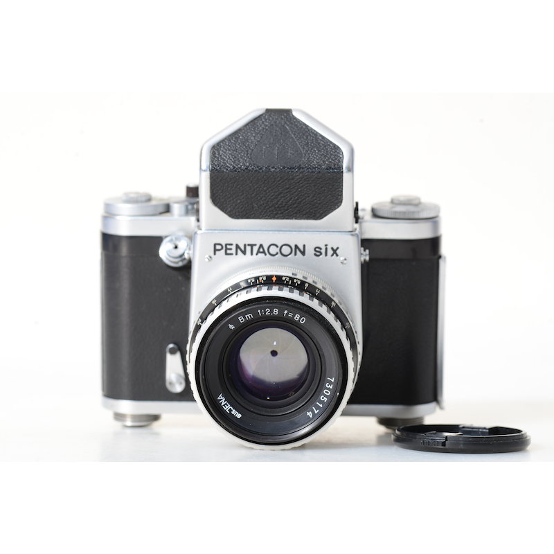 Pentacon Six TL 6x6+Prismensucher+2,8/80