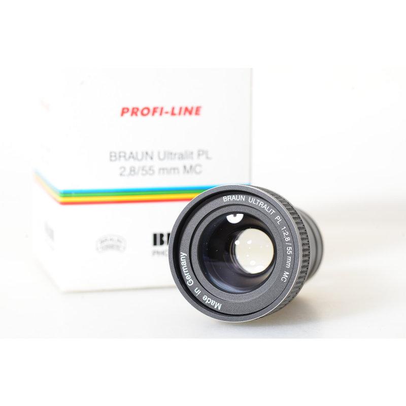Braun Ultralit PL 2,8/55 B-MC