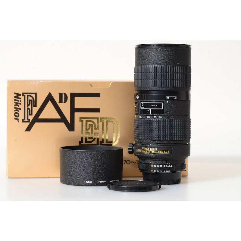 Nikon AF 4,5-5,6/70-180 Micro ED D