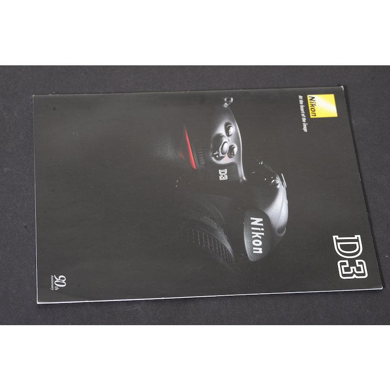 Nikon Prospekt D3