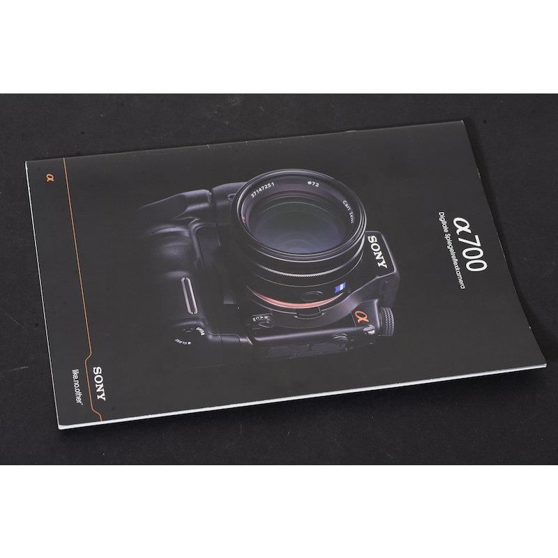 Sony Prospekt Alpha 700